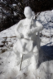 Snow Cellist, '13
